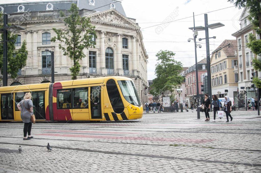 حمل و نقل در شهر مولوز فرانسه