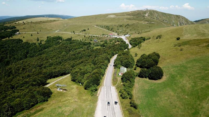جادهی تاجِ ووژ (Route des Crétes des Vosges)؛ جادهای که از دل ووژ میگذرد