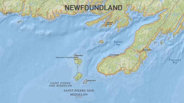 Saint-Pierre-et-Miquelon- جزایر فرانسه