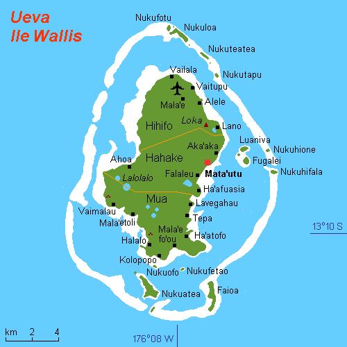 Wallis-et-Futuna - جزایر فرانسه