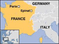 اِپینال فرانسه کجاست و چه موقعیتی دارد؟