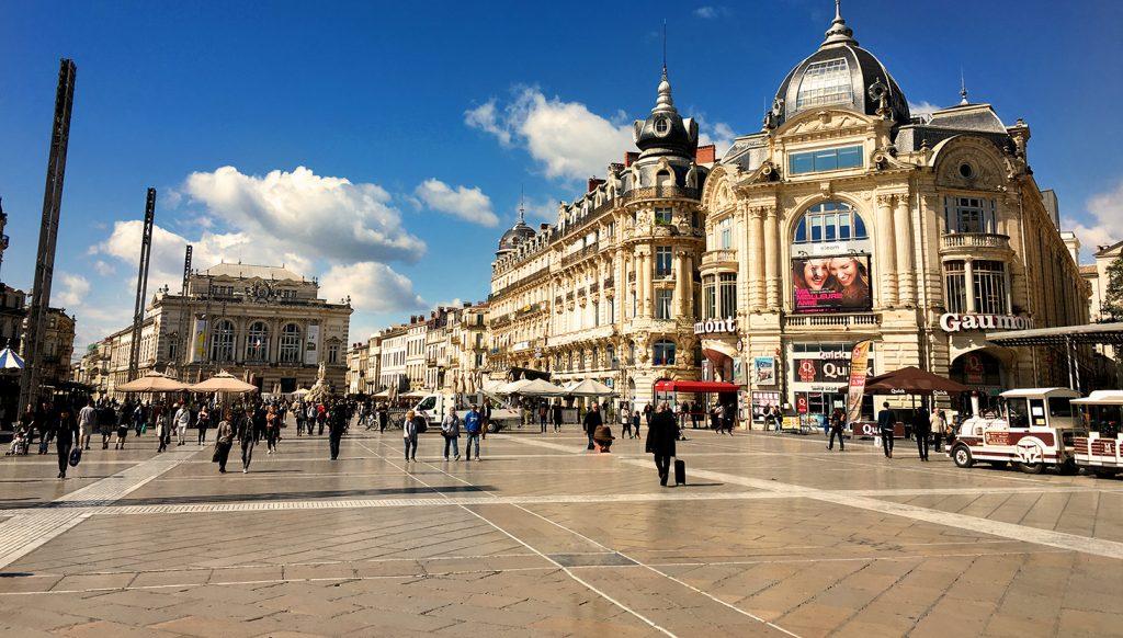 شهر مونت پلیه فرانسه
