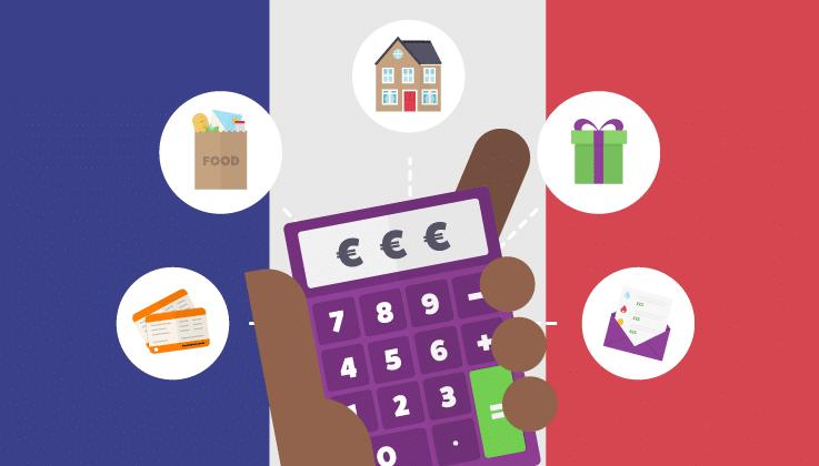 هزینه های زندگی در فرانسه